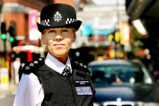 Welcome back: Chief Inspector Sonia Davis has returned to Haringey as head of the borough's Safer Neighbourhoods Teams