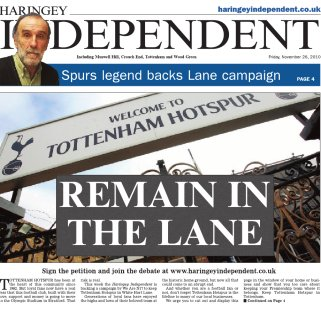 Campaign to get Spurs to Remain In The Lane gathers pace