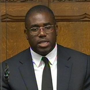 David Lammy said he would not accept another intern from CARE.