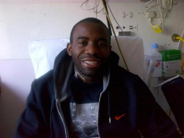 Fabrice Muamba in hospital on March 30