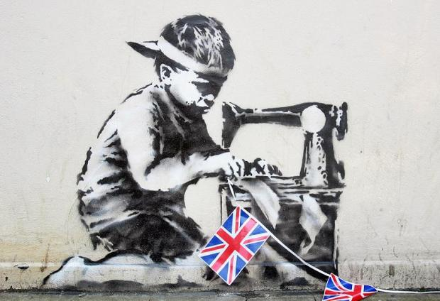 Banksy artwork put on online auction website