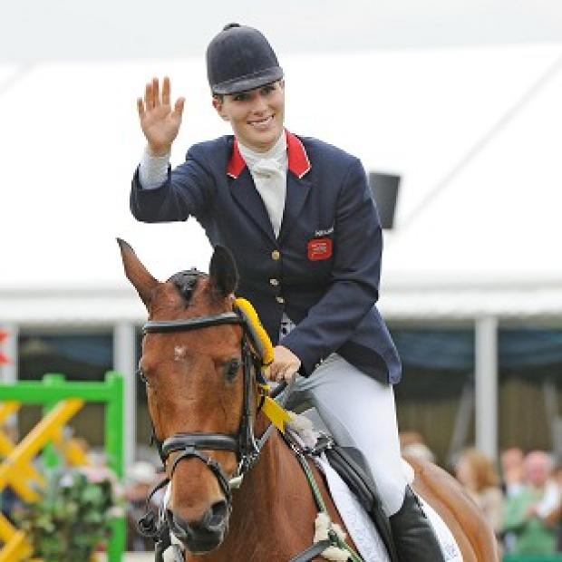 Zara Phillips put in an impressive performance at the Bramham International Horse Trials