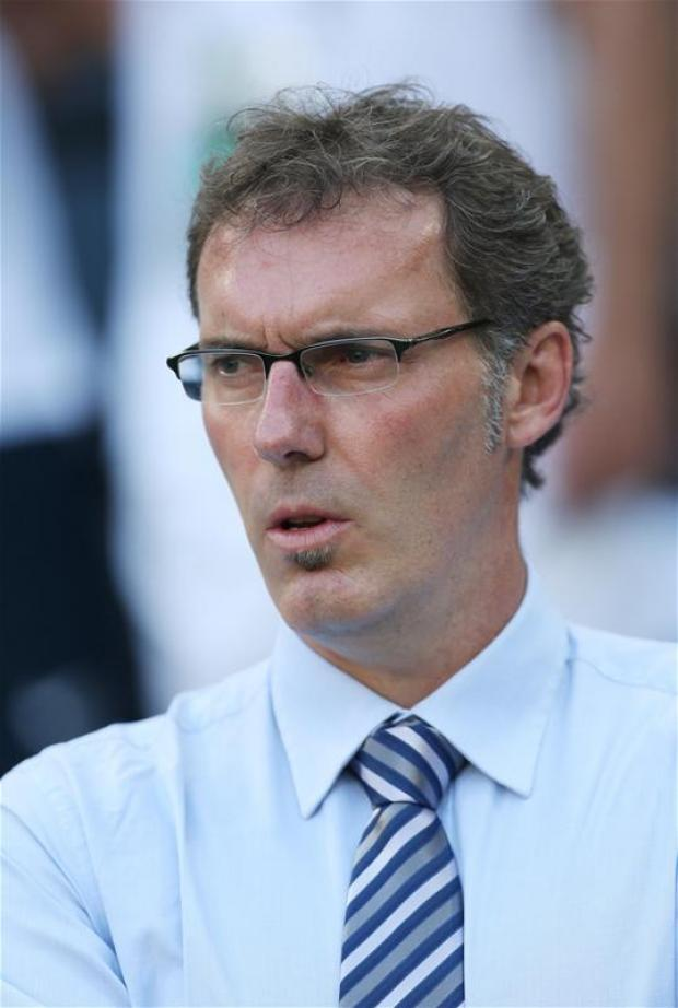 Laurent Blanc has been linked with the vacancy at Spurs. Picture: Action Images