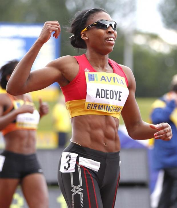 Margaret Adeoye has secured her spot at London 2012. Picture: Action Images