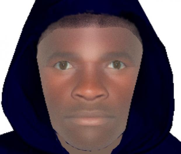 Police have released an efit of the man they would like to trace.
