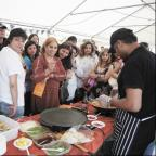 The fourth annual Vegetarian Food Festival is at the Sadhu Vaswani Centre