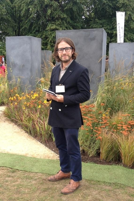 Young gardener wins silver at flower show