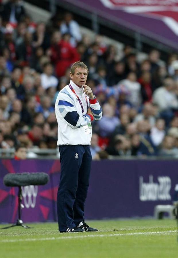 Pearce pleased with GB victory. Picture: Action Images