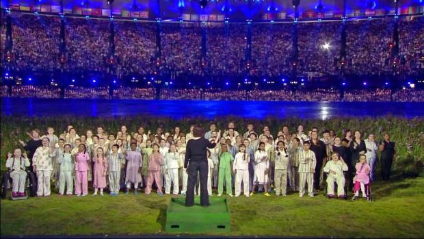 Kaos Signing Choir at the Olympic opening ceremony