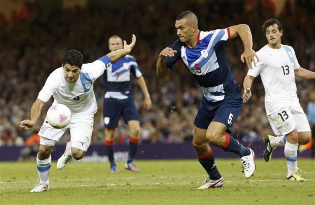 Caulker and Rose feature in Team GB victory. Picture: Action Images