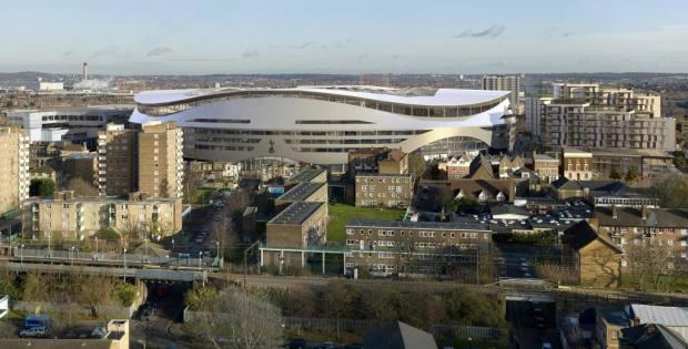 Online excitement over Spurs stadium blueprints