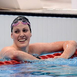 Missy Franklin was a clear winner in the 200 metres backstroke