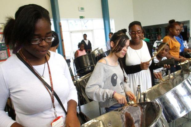 Tottenham teenagers take part in summer music programme