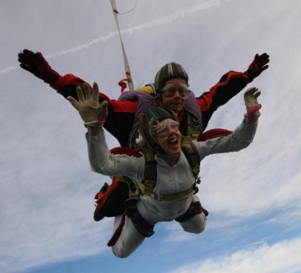 Charity calls for skydiving fundraisers