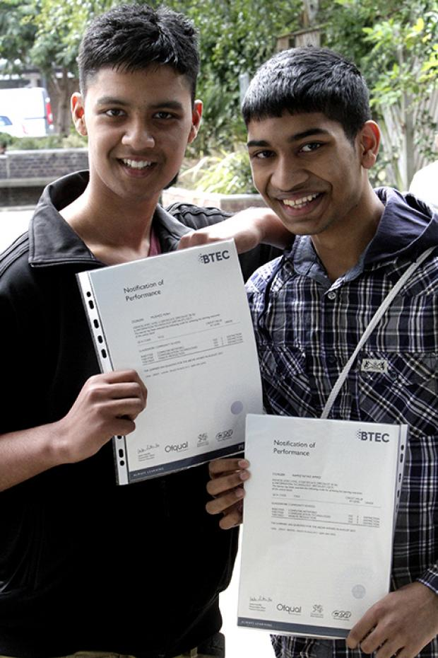 GCSE pupils off to university early after top results