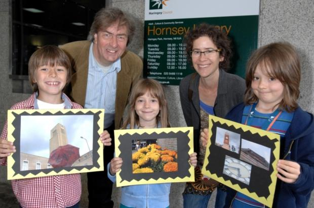 Young snappers awarded for town hall photos