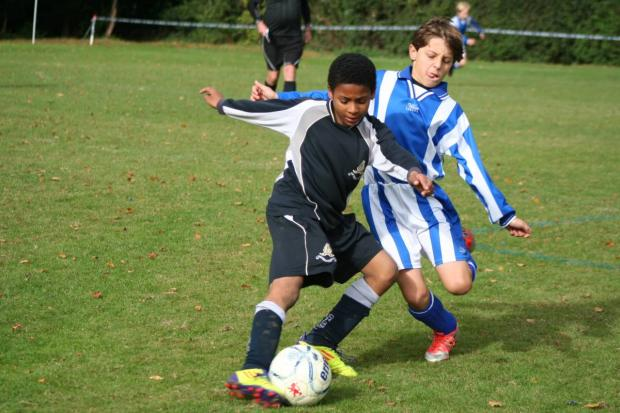 Chigwell School hosted the Essex & Herts regional round of the Independent Schools FA U11 national tournament