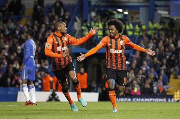 Haringey Independent: Tottenham targets: Luiz Adriano, left, and Willian, right (Picture: Action Images)