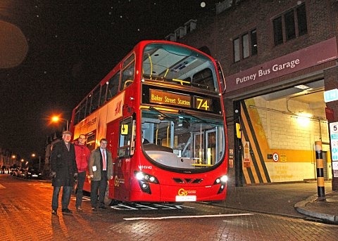 WAND Campaigners celebrate fleet of clean buses