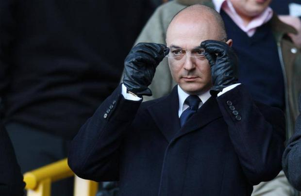 Man with a plan: Spurs chairman Daniel Levy (Picture: Action Images)