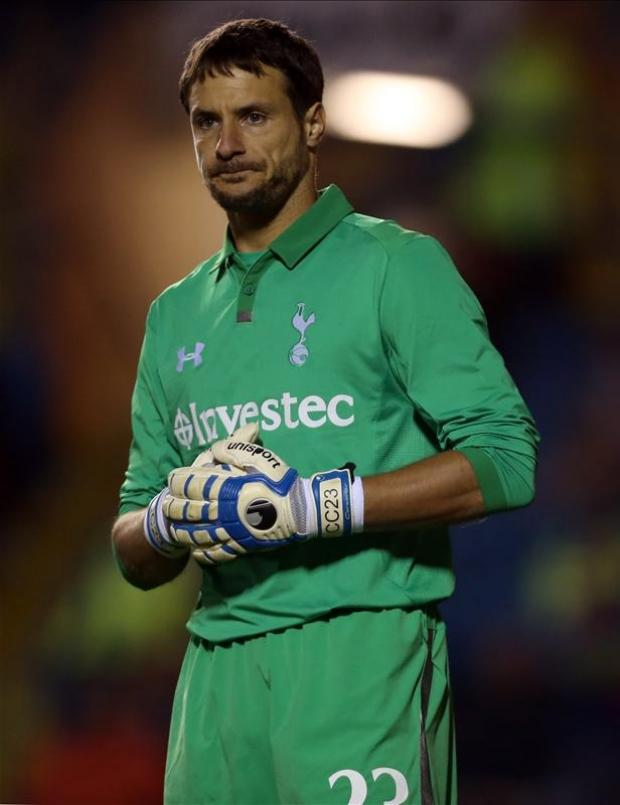Carlo Cudicini. Picture courtesy Action Images.
