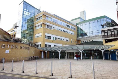 The Whittington Hospital in Magdala Avenue