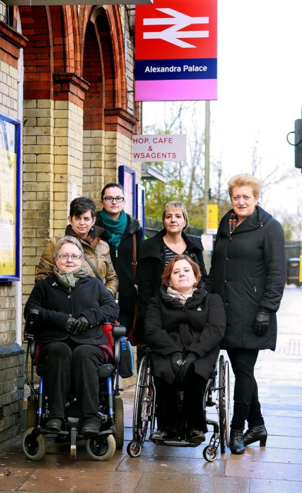 Anger at lack of disabled access as part of station upgrade