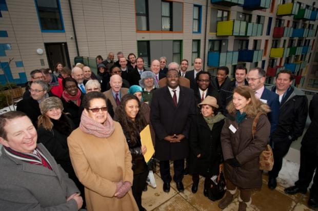 MP opens final part of housing development