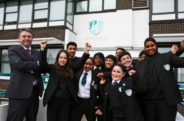 School celebrates glowing Ofsted report