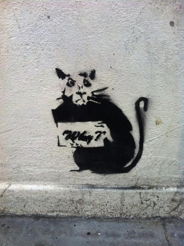 New 'Banksy' gets protective glass