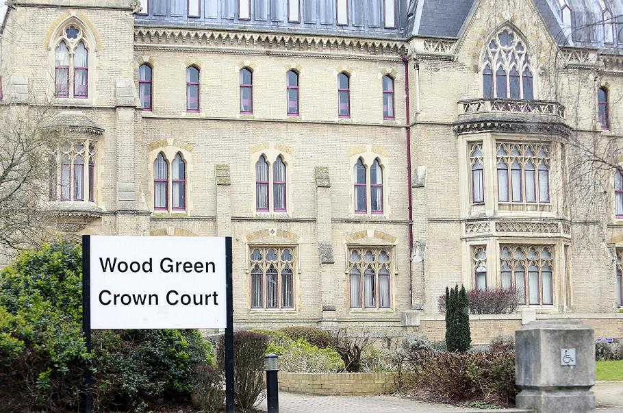 Brown was found guilty at Wood Green Crown Court despite cla