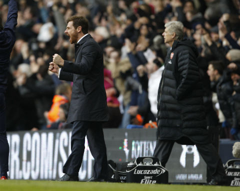 Villas-Boas hails 'great team performance' in Arsenal win