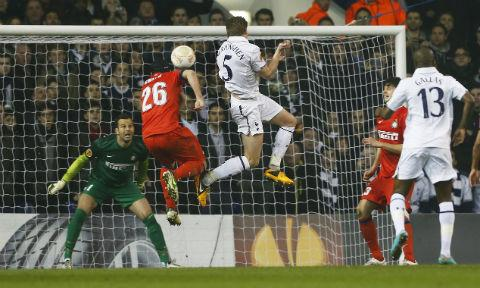 A Jan Vertonghen header after the break secured a healthy advantage for the home side. Pictures courtesy of Action Images