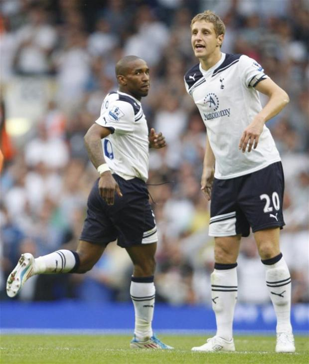 Michael Dawson and Jermaine Defore are two of the five Spurs players called up to the England squad. Picture: Action Images