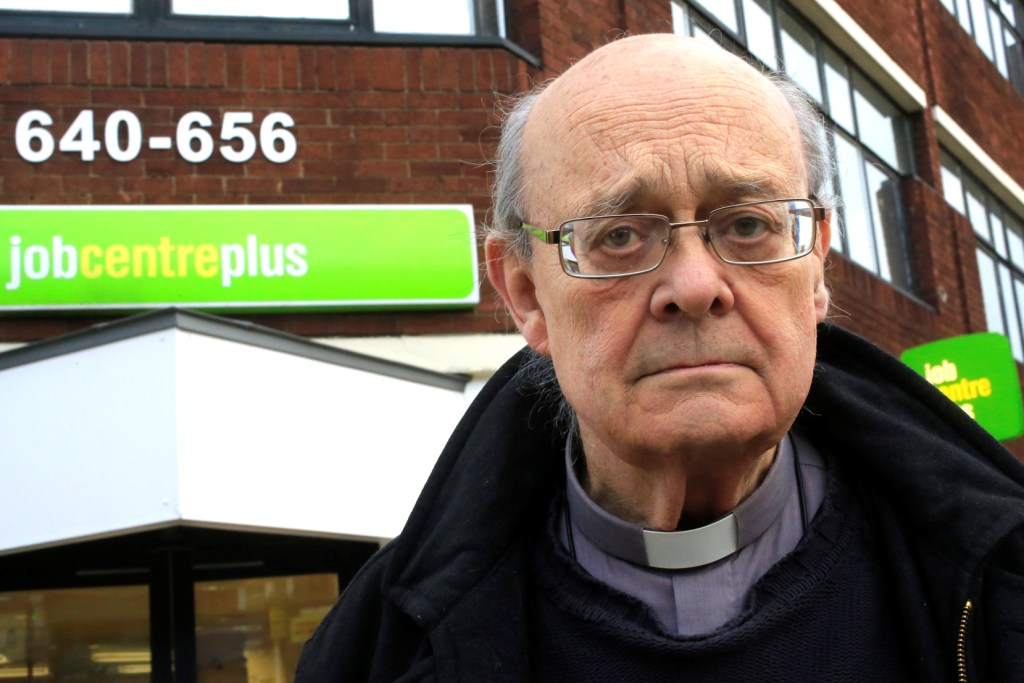 Reverend Paul Nicolson, of campaign group Taxpayers Against Poverty