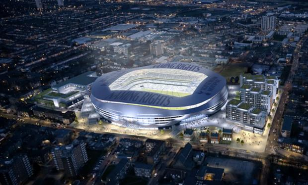 Haringey Independent: Tottenham Hotspur's 56,000-seater stadium would be completed by the summer of 2017