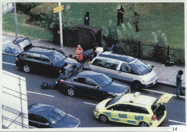 Haringey Independent: The scene of the Mark Duggan shooting