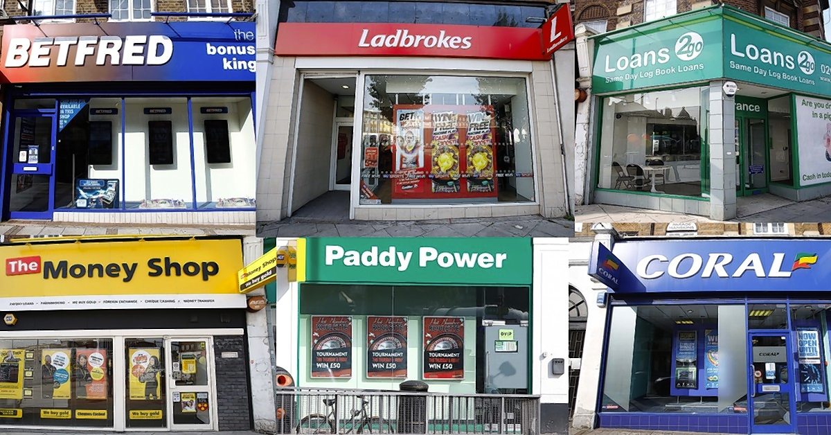 The campaign aims to halt the spread of betting shops in UK high streets and curb the related financial issues heavy gamblers face