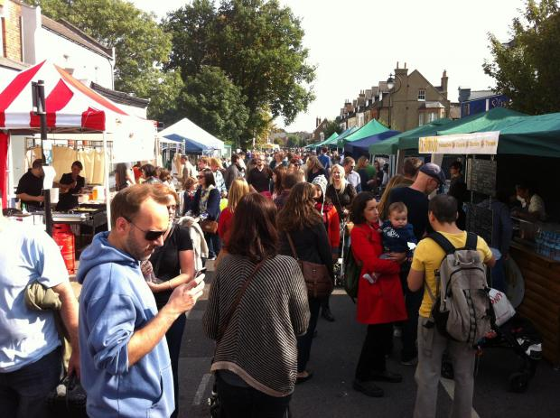 Haringey Independent: The market returns to the area four times a year