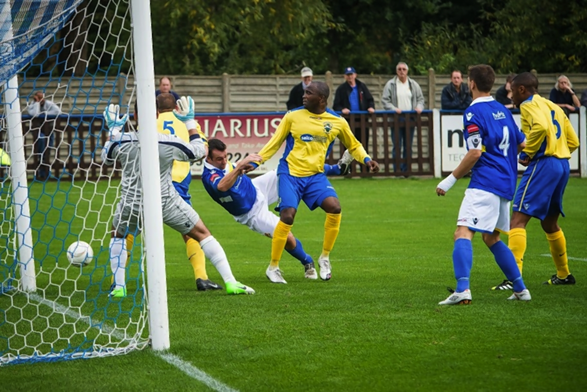 Haringey Borough are out of the FA Cup: Steve Foster/Wealdstone FC