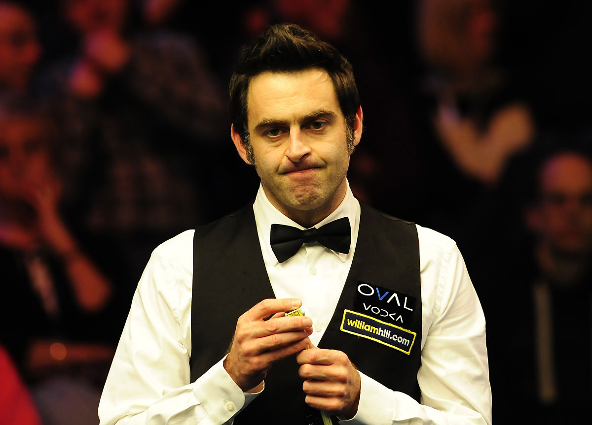 Ronnie O'Sullivan won the Masters at Alexandra Palace: Action Images