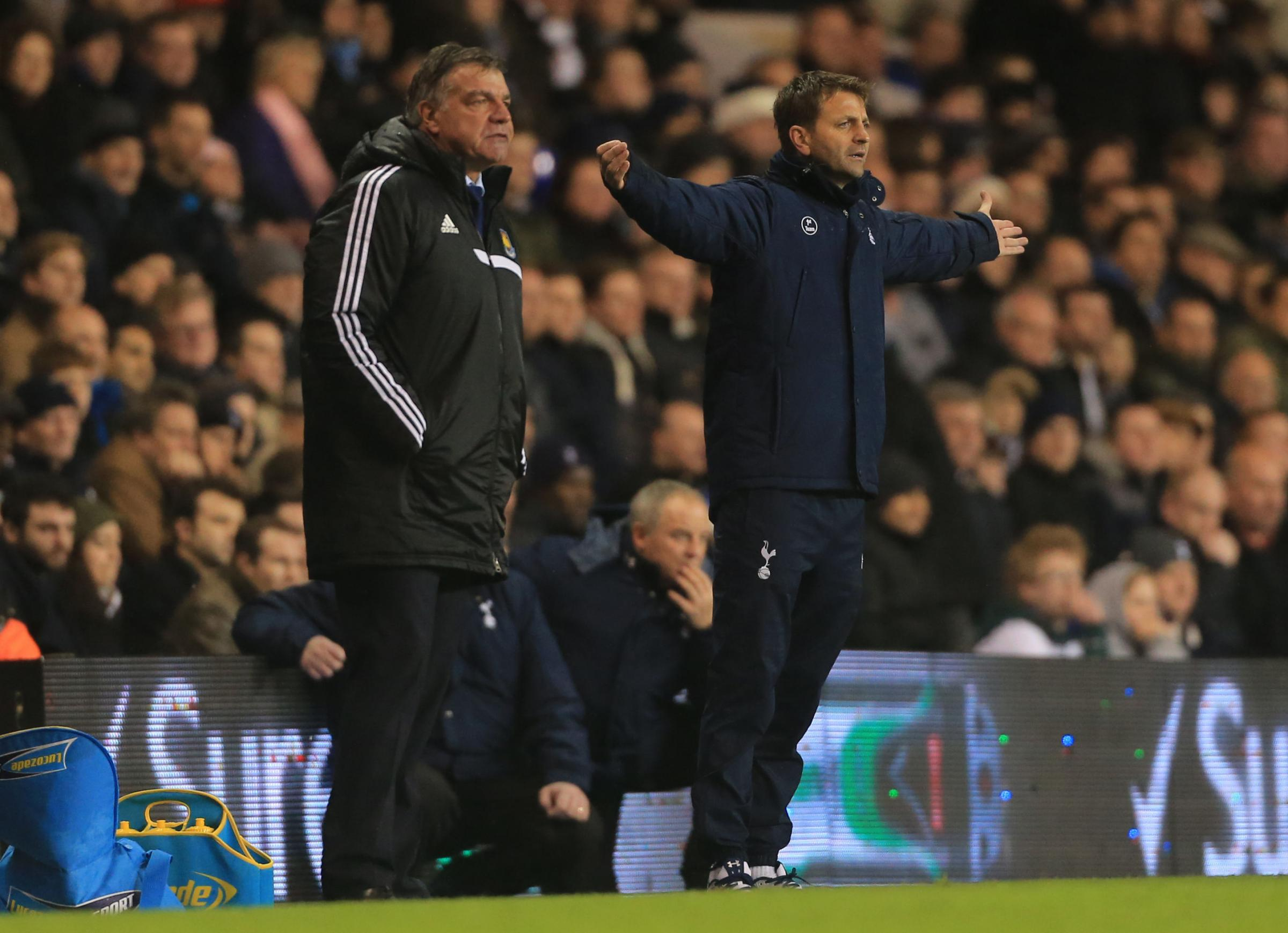 Tim Sherwood could be in line to replace West Brom's Pepe Mel. Picture: Action Images