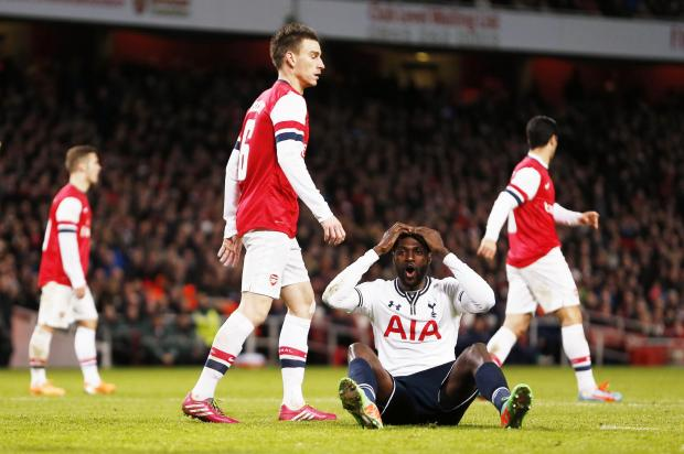 Spurs were knocked out of the FA Cup at the hands of their bitter rivals Arsenal at Emirates Stadium