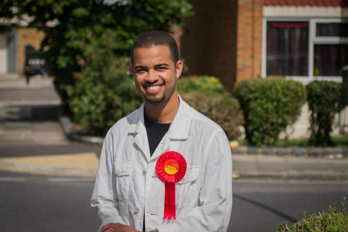 Adam Jogee, from Hornsey, wants to represent under-25s on Haringey Borough Council