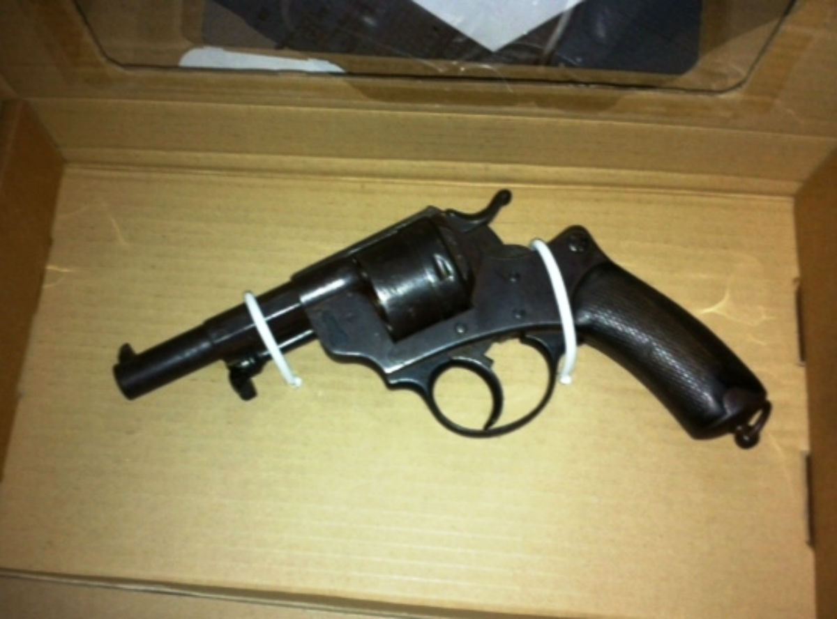 Two men have been arrested for carrying a gun in Wood Green