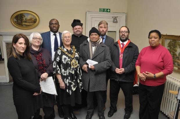 Haringey Independent: The MP for Hornsey and Wood Green, Lynne Featherstone, and Tottenham MP, David Lammy, were among the guests at the memorial event.