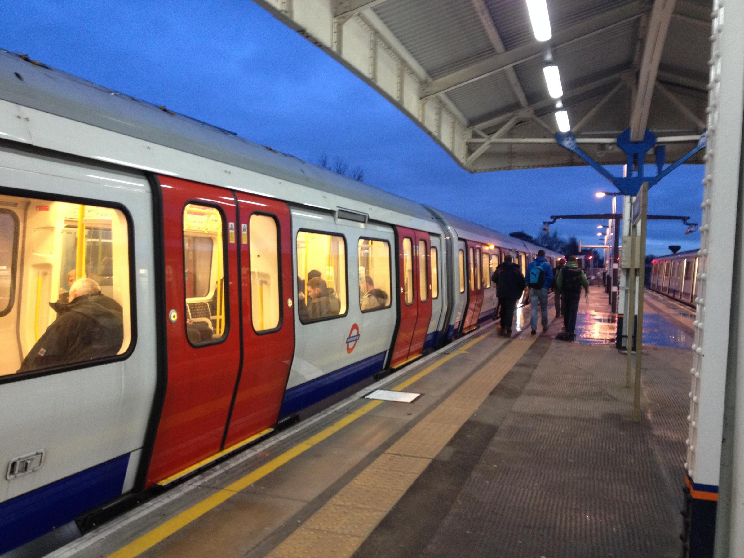 Commuters taking the tube experienced severe delays this morning