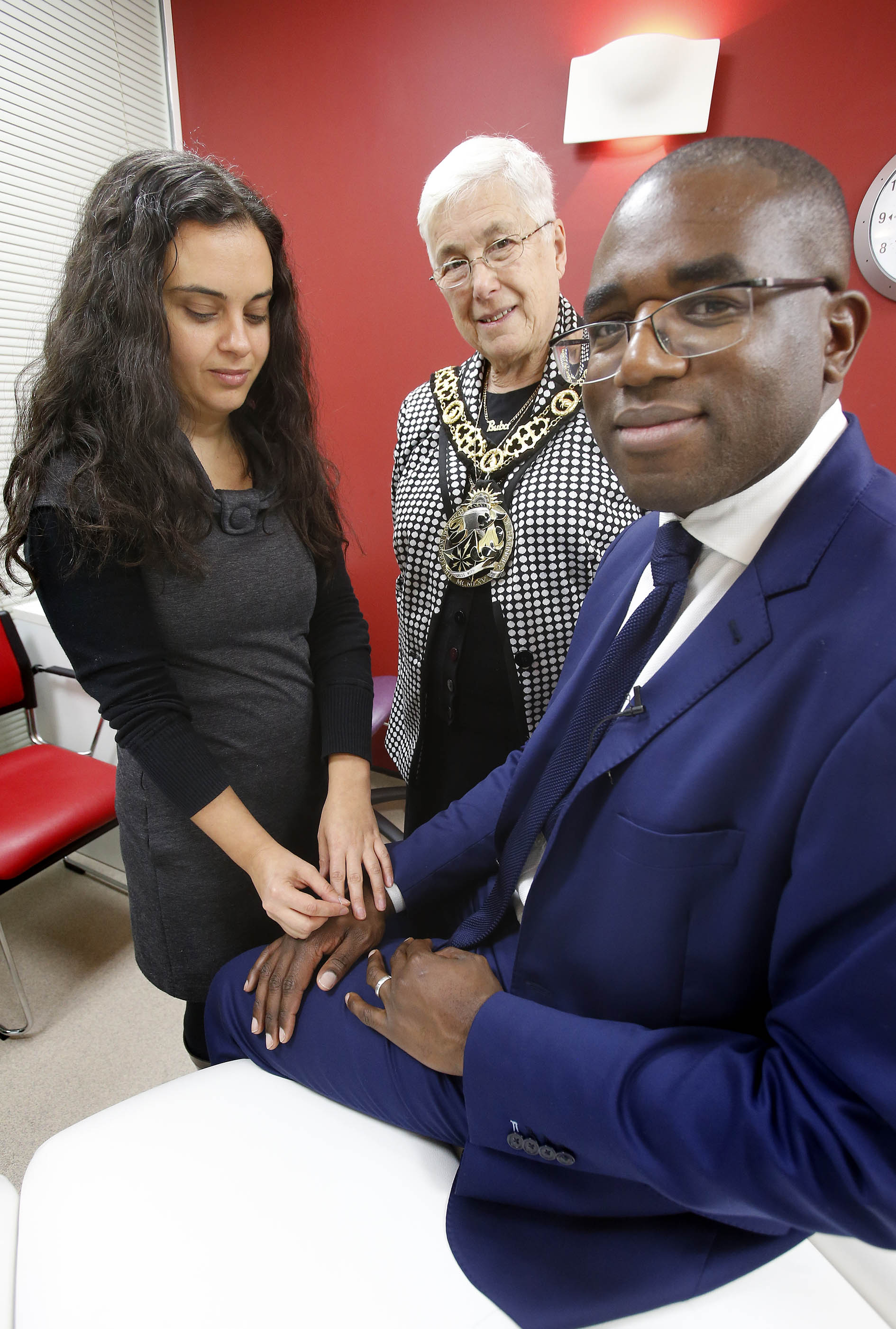 MP opens new facilities at health centre