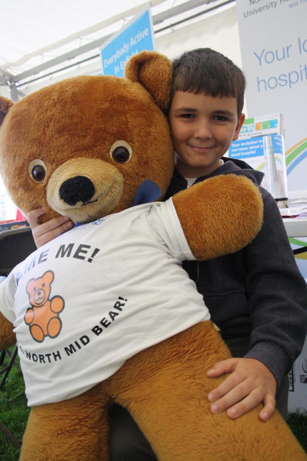 Haringey Independent: Mascot midsy the bear