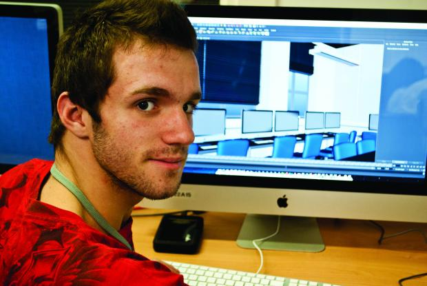 College student Andre Ferreira won a silver medal at Skills Show 2013 after completing Games and Animation BTEC Level 3 at the College of Haringey, Enfield and North East London